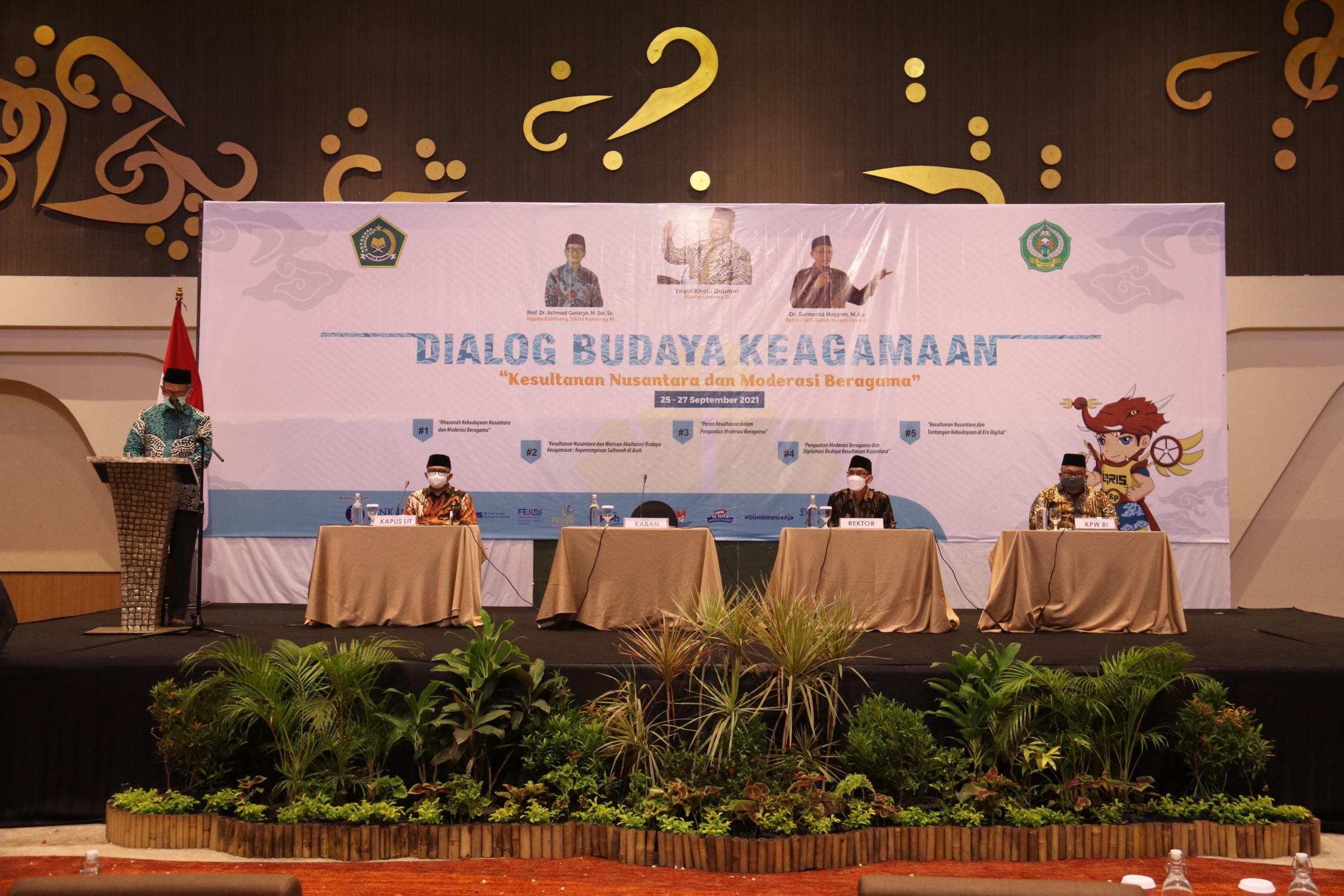 Puslitbang Kemenag RI dan IAIN Cirebon Gelar Dialog Budaya Keagamaan